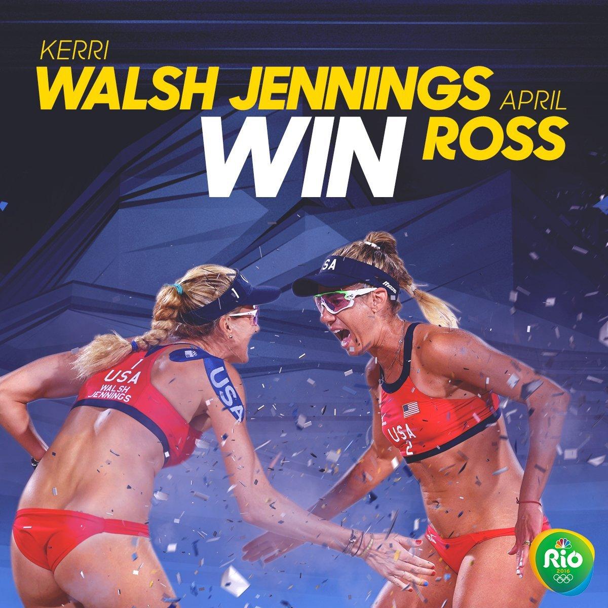 NBC Rio Olympics Walsh Jennings