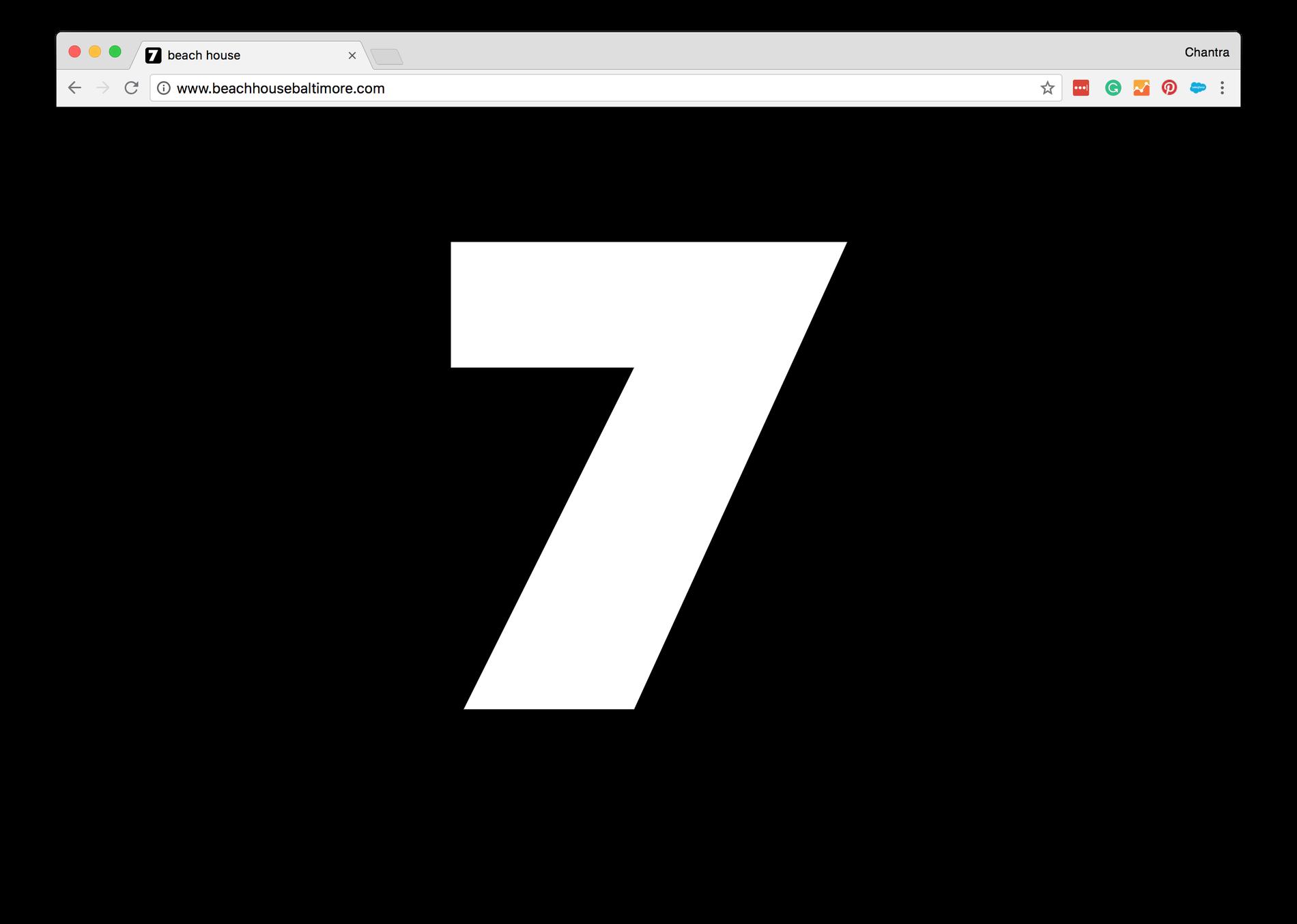 Beach House 7 Website - Sharp-Type-Centra-No-1