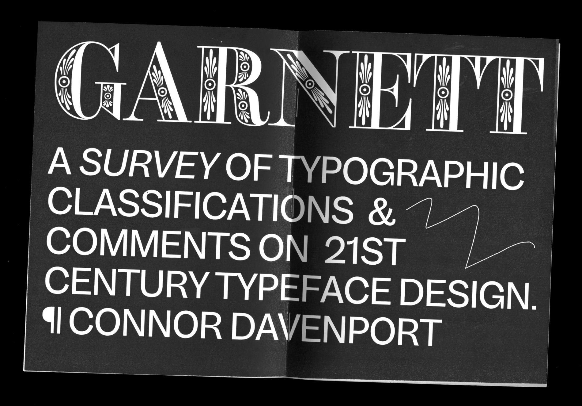 Garnett Cover