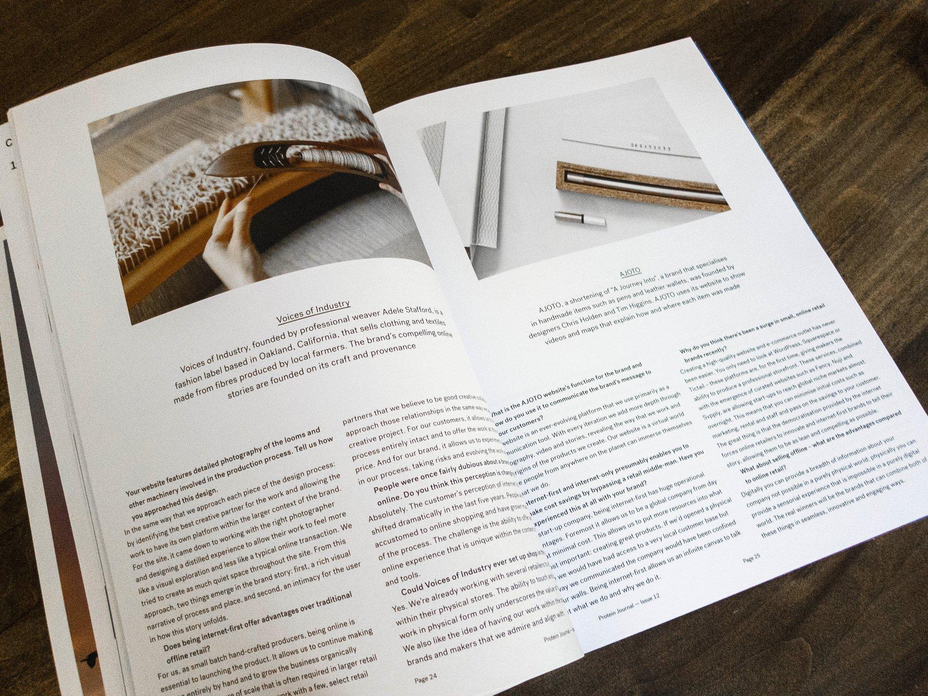 PG Protein Journal