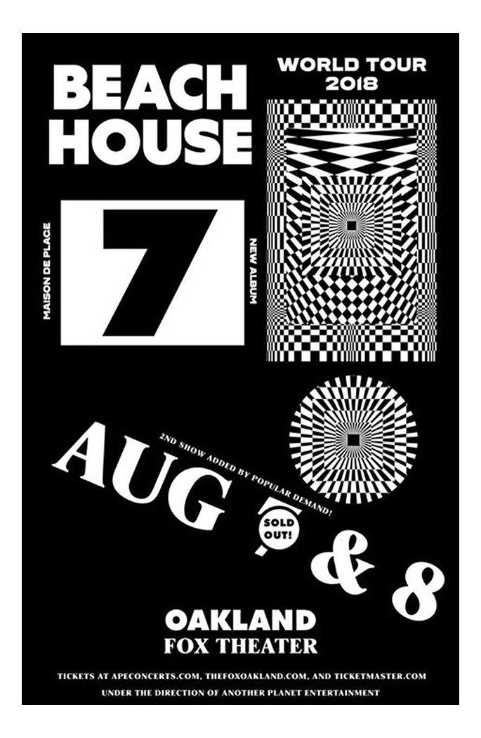 Sharp Type Beach House Poster Centra No 1 - B