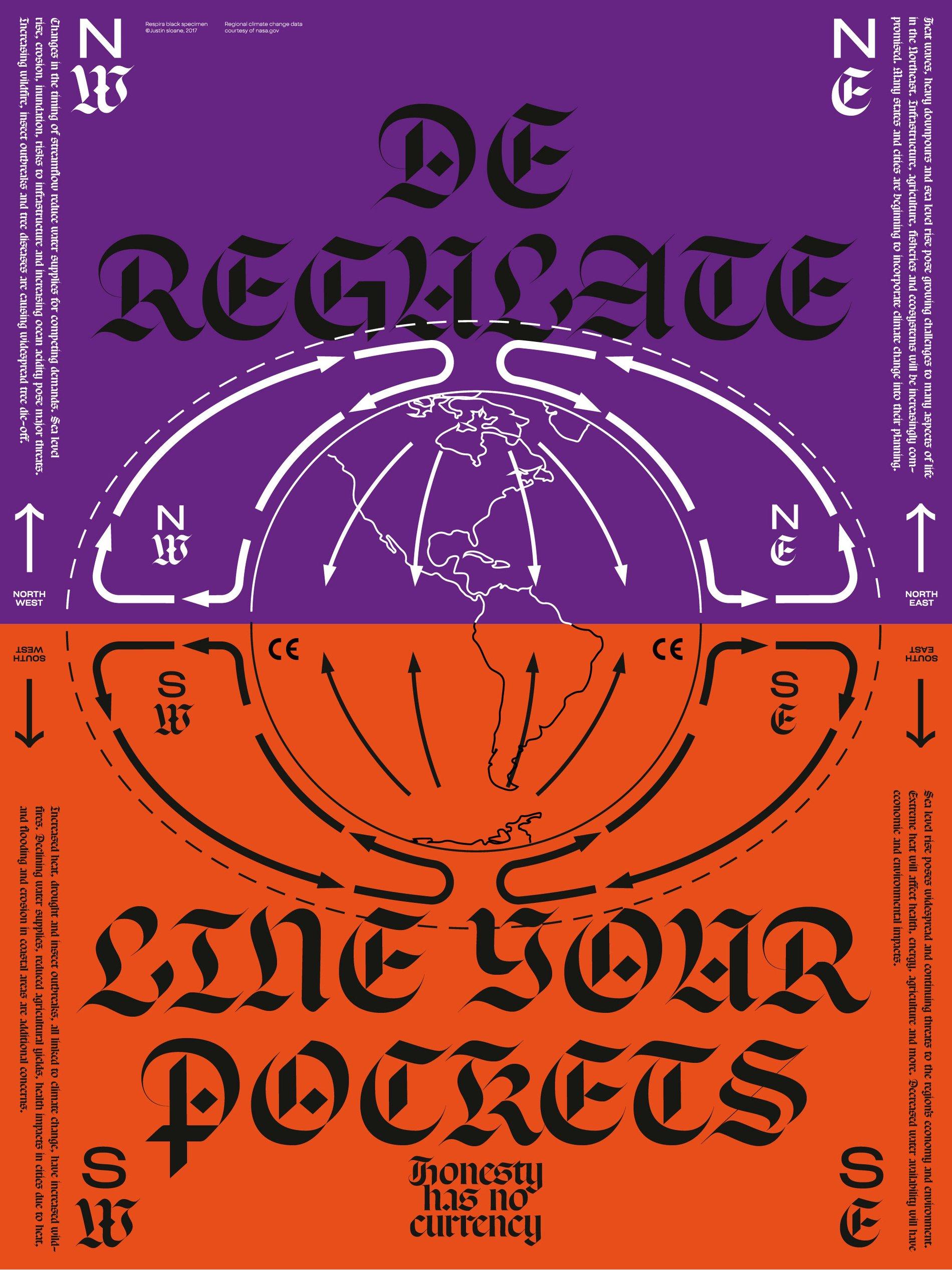 Justin Sloane Label Respira Poster