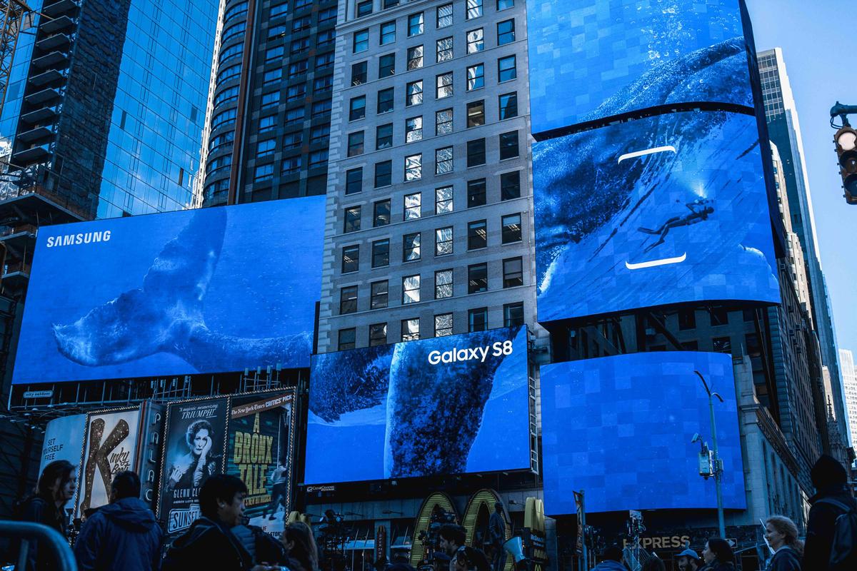 Samsung-Dream-Sharp-Sans-Times-Square