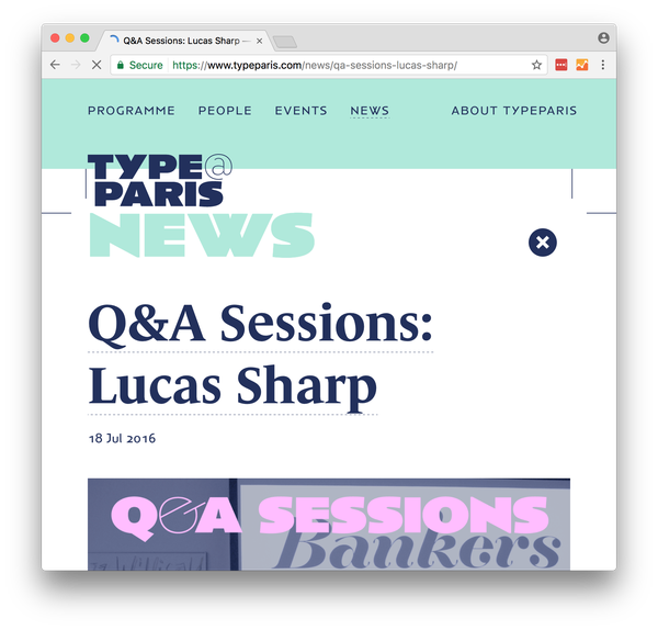Type Paris QA