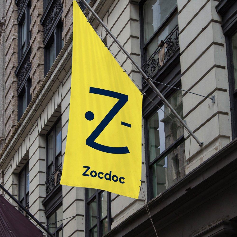 Sharp Sans in Use - Zocdoc banner