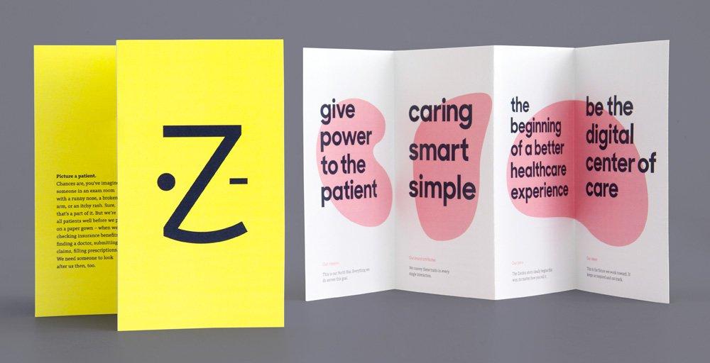 Sharp Sans in Use - Zocdoc Brochure